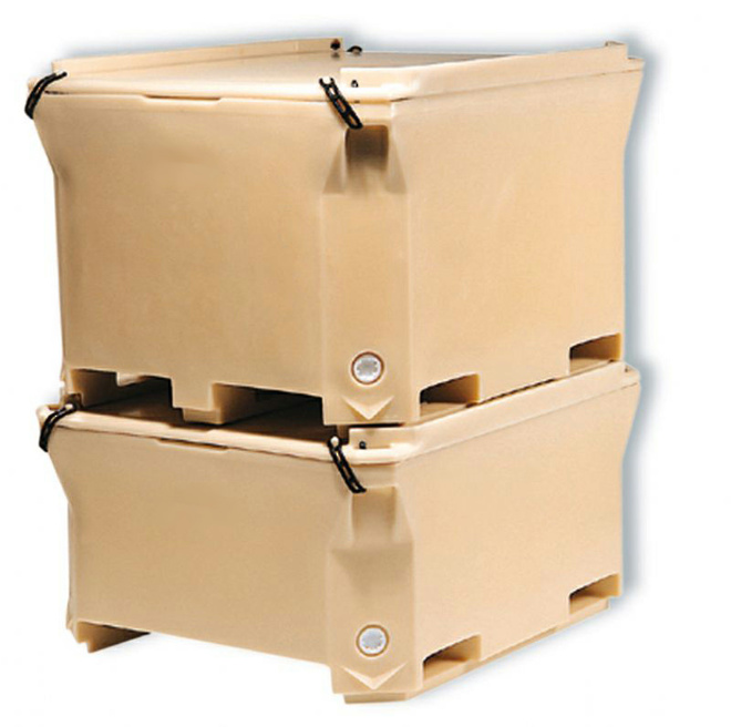 460 Litre Insulated Pallet Bin image 3