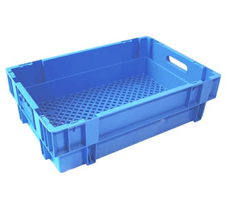 32 Litre Stack N Nest Crate Vented Base (600 x 400mm)