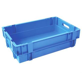 32 Litre Stack N Nest Crate Solid Base (600 x 400mm)