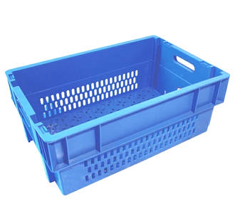 44 Litre Stack N Nest Crate Fully Vented (600 x 400mm)