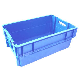 44 Litre Stack N Nest Crate Solid Base (600 x 400mm)