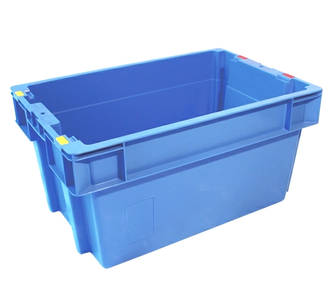 51 Litre Stack N Nest Crate Solid Base (600 x 400mm)
