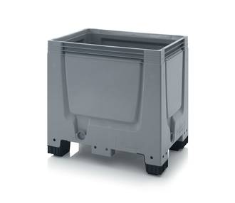 250 Litre Solid Pallet Bin with Feet