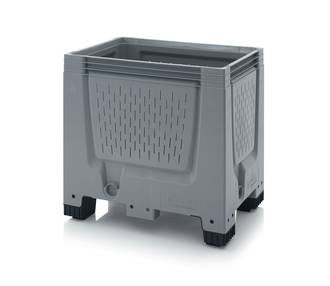 250 Litre Vented Pallet Bin with Feet