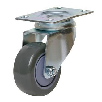 Swivel Castor with 75mm Polyurethane Wheel