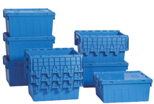 COPACK Attached Lid Crates